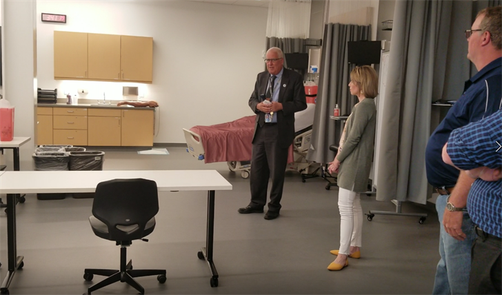 NGage receives NPPD grant, tours SCC Academic Excellence Center
