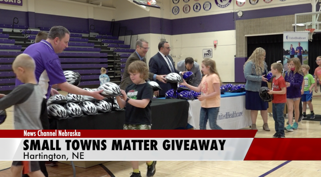 Hartington-Newcastle wins Small Towns Matter Giveaway