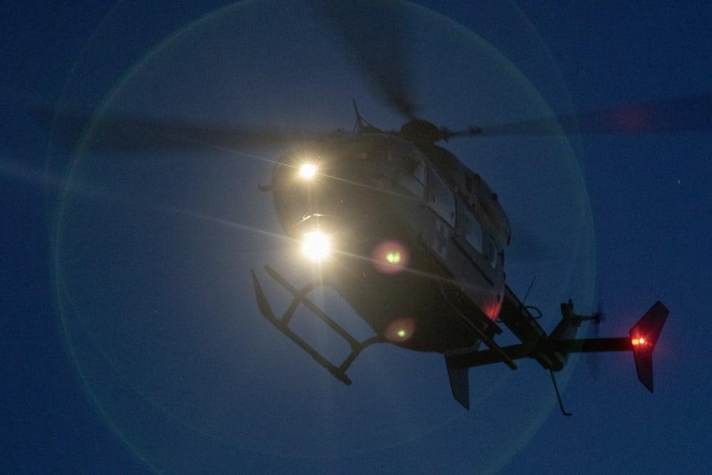 Nebraska National Guard crews get medical evacuation training