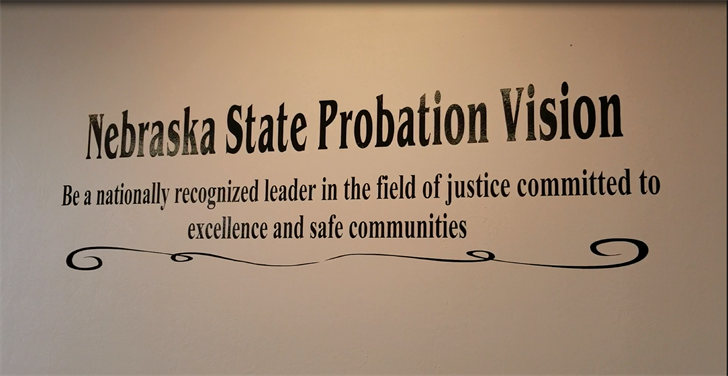 Nebraska District One Probation gives report to Gage County officials