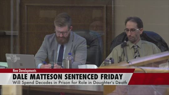 Matteson sentenced to 75-80 years in prison