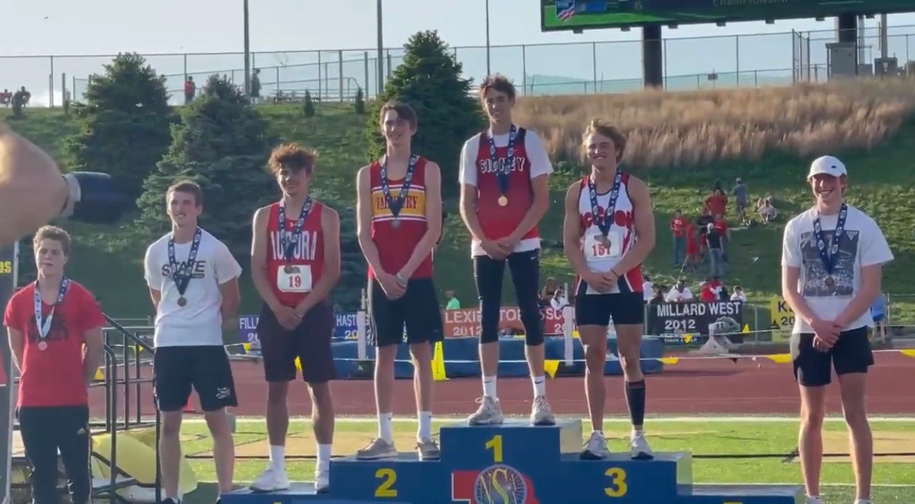 Sidney has strong showing in day one of Class B State Track and Field Championships