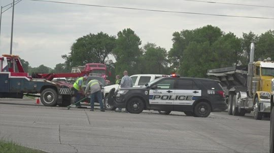 Car Accident at Channel Road Intersection
