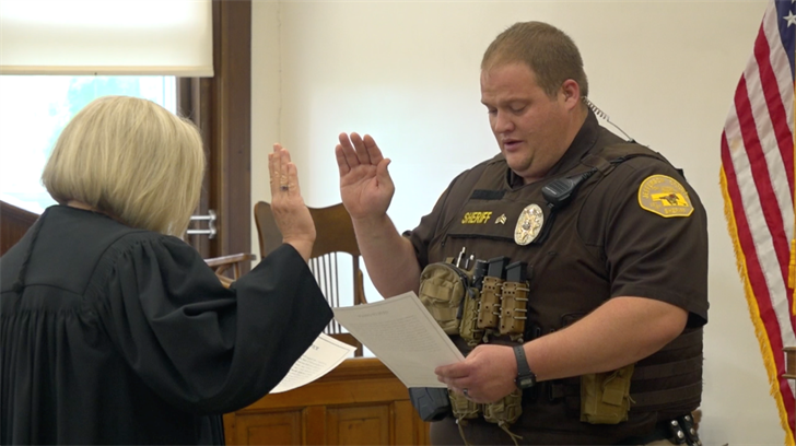 Nick Georgi sworn in as Jefferson County Sheriff