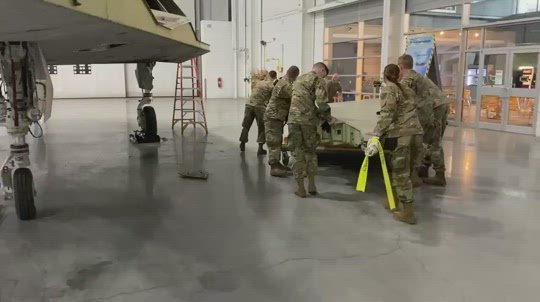 Nebraska Air National Guard helping restore F-117 Nighthawk
