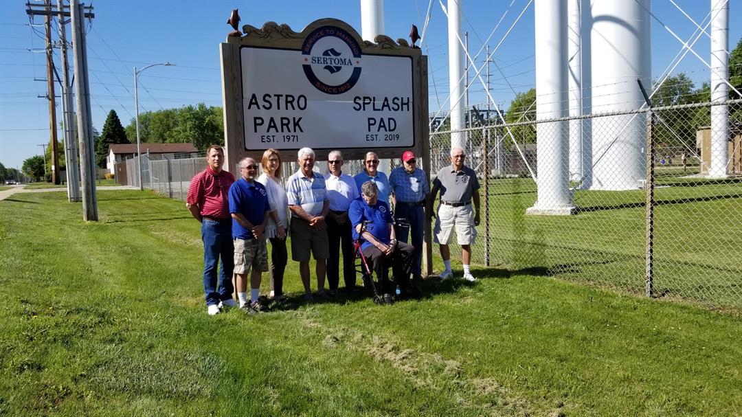 Beatrice Sertoma holds Grand Opening for Astro Park Splash Pad