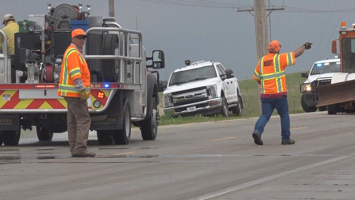 Crews clean up corn mash spill near Sutherland ethanol plant