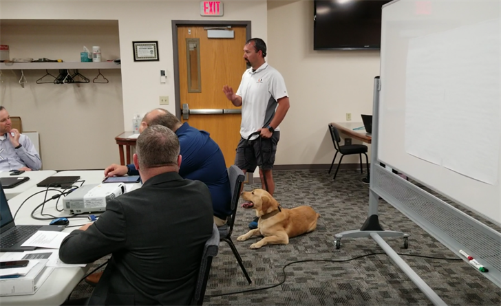 Police K9 Toro may be going to school….literally