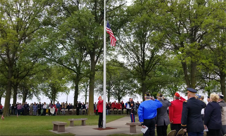 Sacrifice, service remembered at Beatrice Memorial Day ceremony