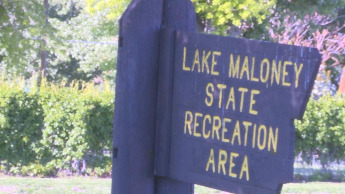Memorial Day at the Lake Maloney