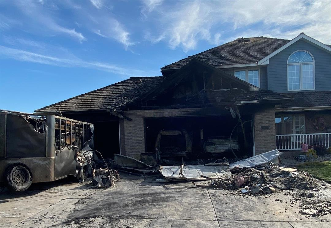 Nearly $300K in damage caused by overnight fire