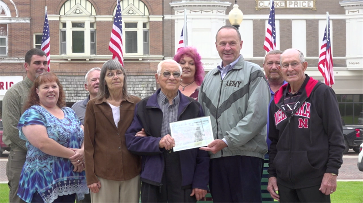Army veteran, Fairbury resident honored as Jefferson County Veteran of the Month