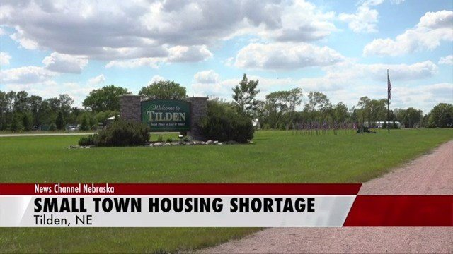 Small town housing shortage