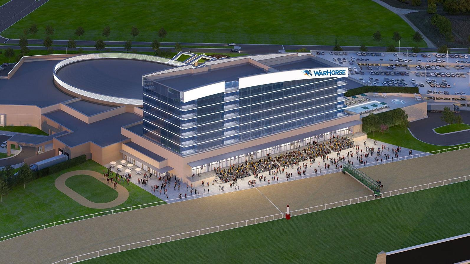 Lincoln racetrack site of temporary casino with 300 slots