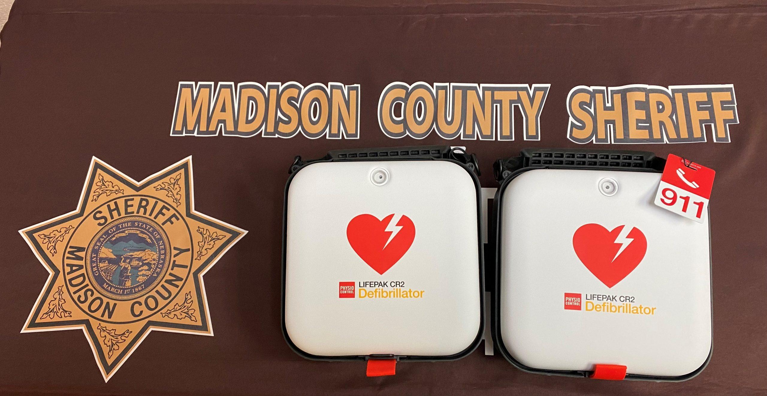 Grant money brings life-saving equipment to Madison County