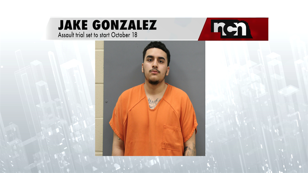 Court sets trial dates for Gonzalez assault case