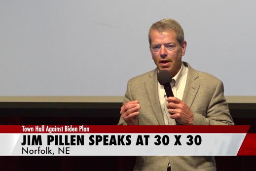 Pillen shares complaints against 30×30