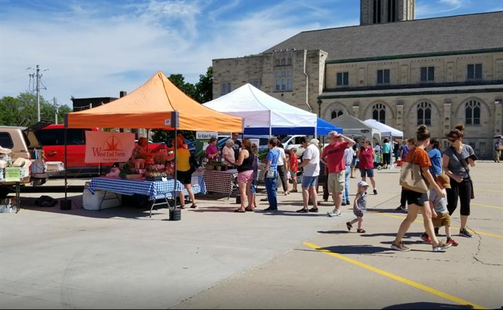 Main Street Beatrice Farmer's Market settling into new location