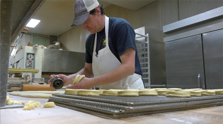 National Donut Day keeps bakers busy at 104-year-old Sunrise Bakery