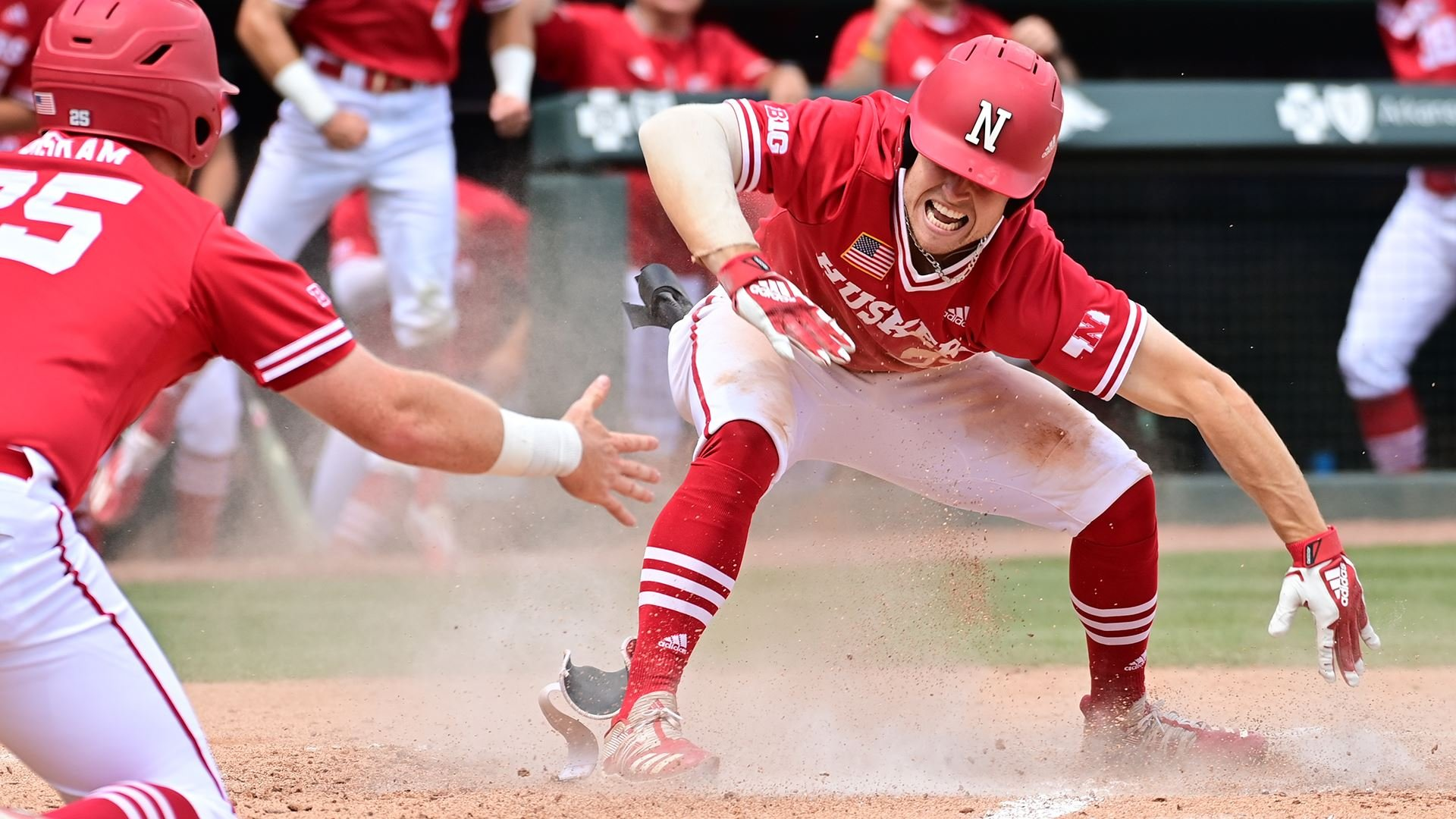 Huskers Advance to Regional Final with 18-4 Win