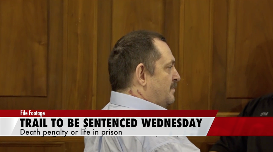 Aubrey Trail to be sentenced on Wednesday