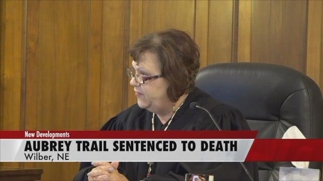 Three-judge panel sentences Aubrey Trail to death