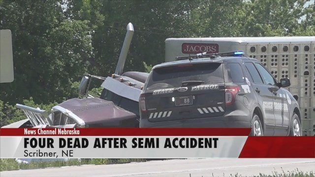 Authorities identify four people killed in crash near Scribner