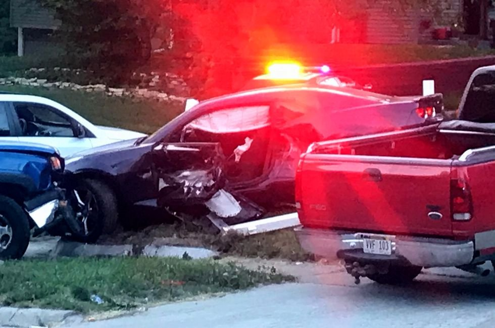 One person dead after crash, shooting in Omaha