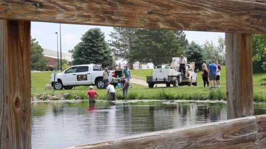 Kids Fishing Day tries to get youth hooked on fishing