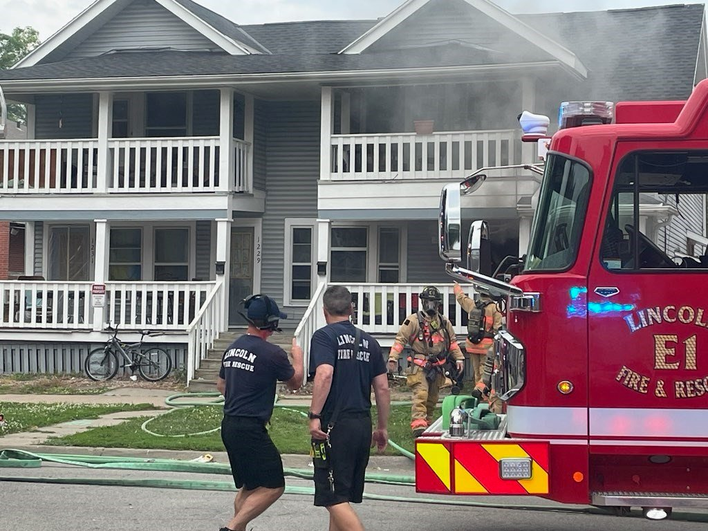 Arson suspected in Friday Lincoln apartment fire