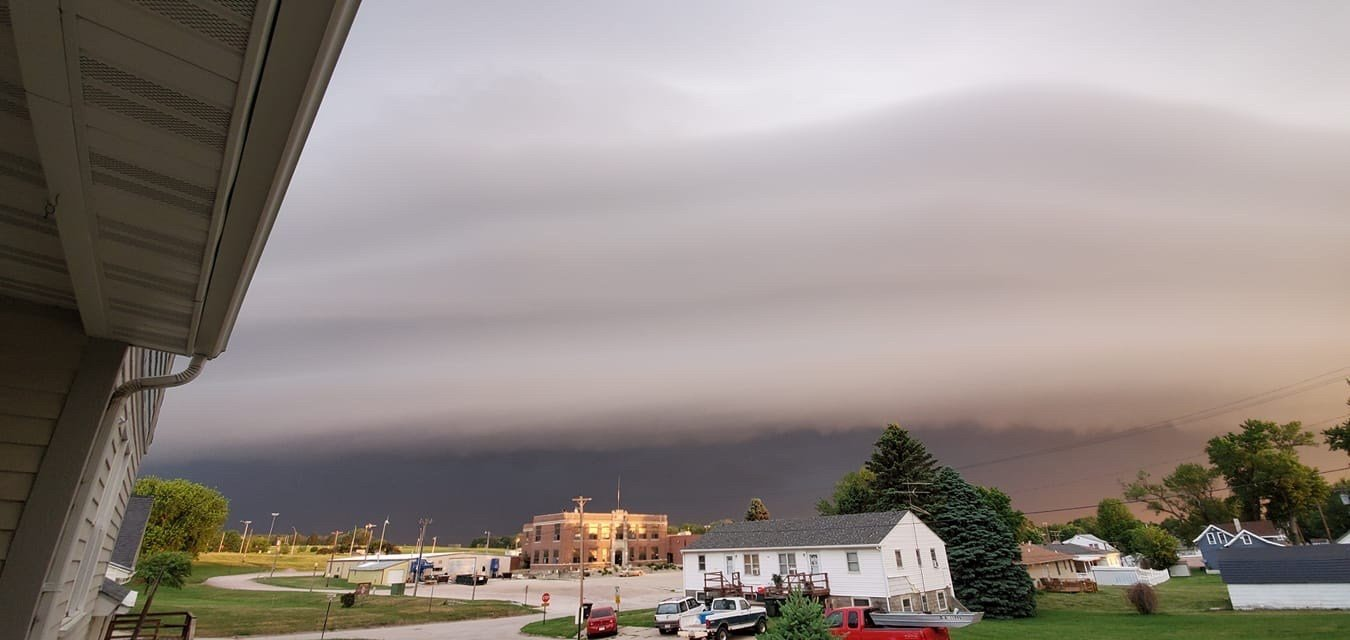 Friday storms powering through Nebraska