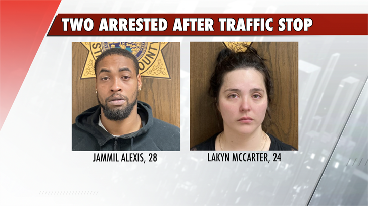 Two Arrested After Stanton County Traffic Stop