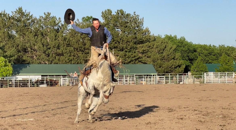 Kimball resumes ranch rodeo after year away