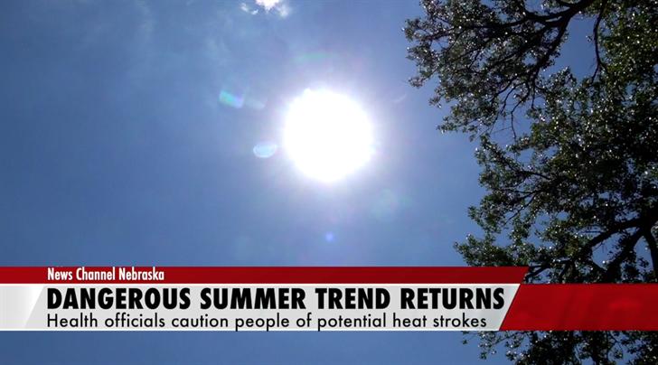 Extreme heat coming back to Nebraska Wednesday