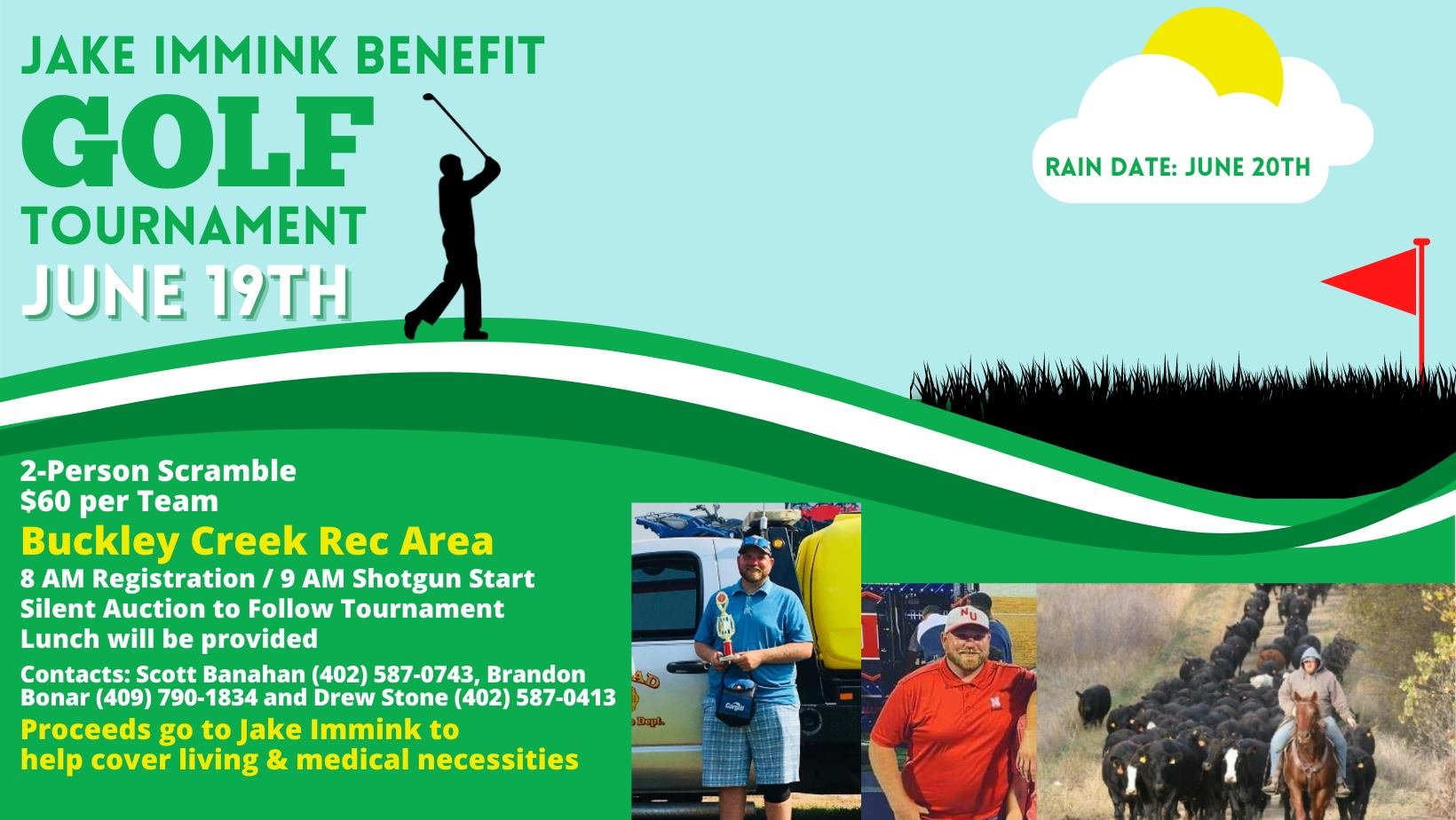 Golf Fundraiser for Jake Immink to take place on Saturday, June 19