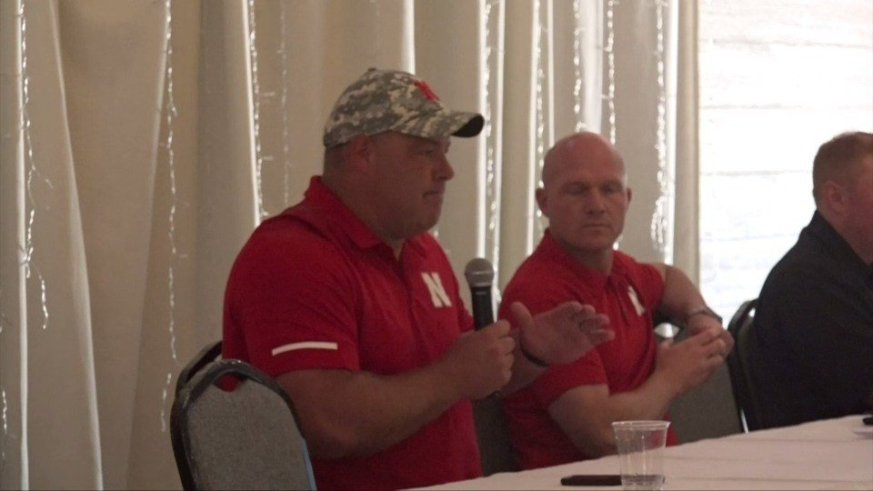 Coaches and fans share Husker passion