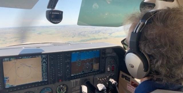 Civil air patrol flights spot wildfires in northern Nebraska