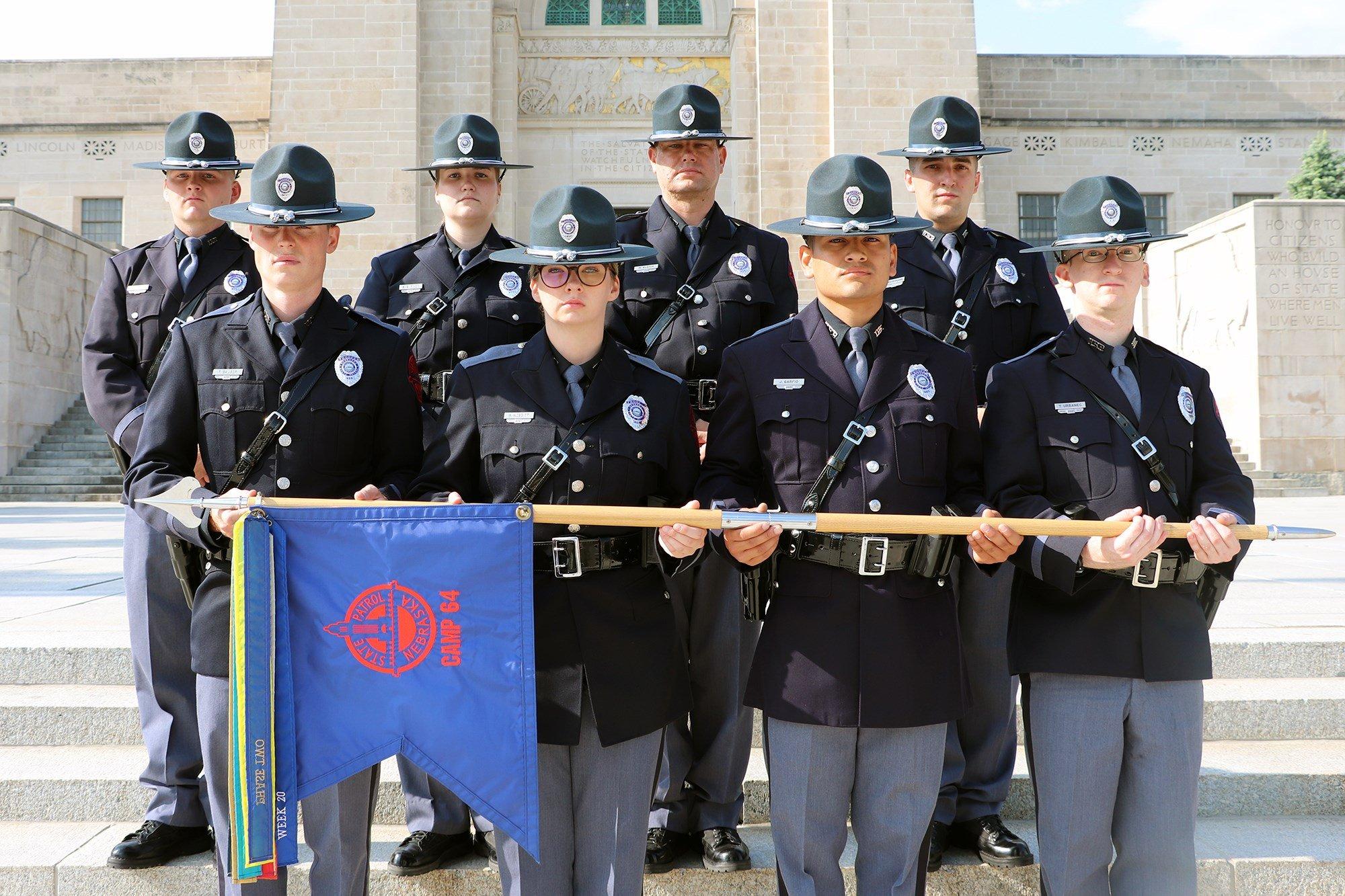 Nebraska State Patrol celebrates new class of graduates