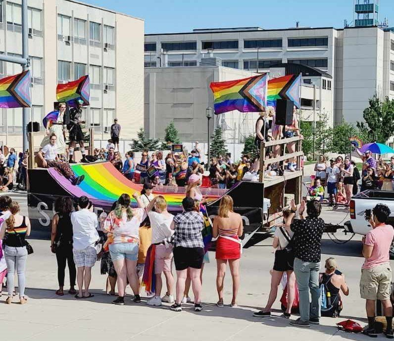 'Love and positivity': Star City Pride Parade makes its debut