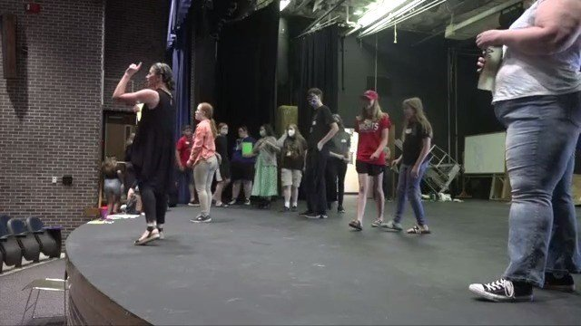 Norfolk Youth Theater Camp is back on the big stage