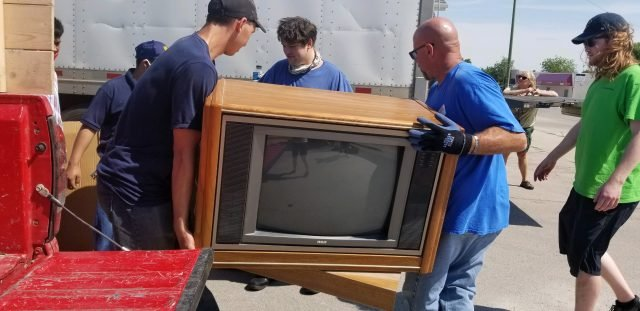 Keep Chadron Beautiful Electronic Recycling Hits Record Number