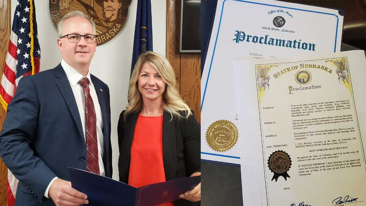 Mayor Kelliher Proclaims Keep North Platte Beautiful Day