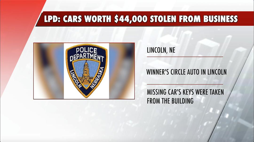 Overnight burglary: nearly $50,000 setback