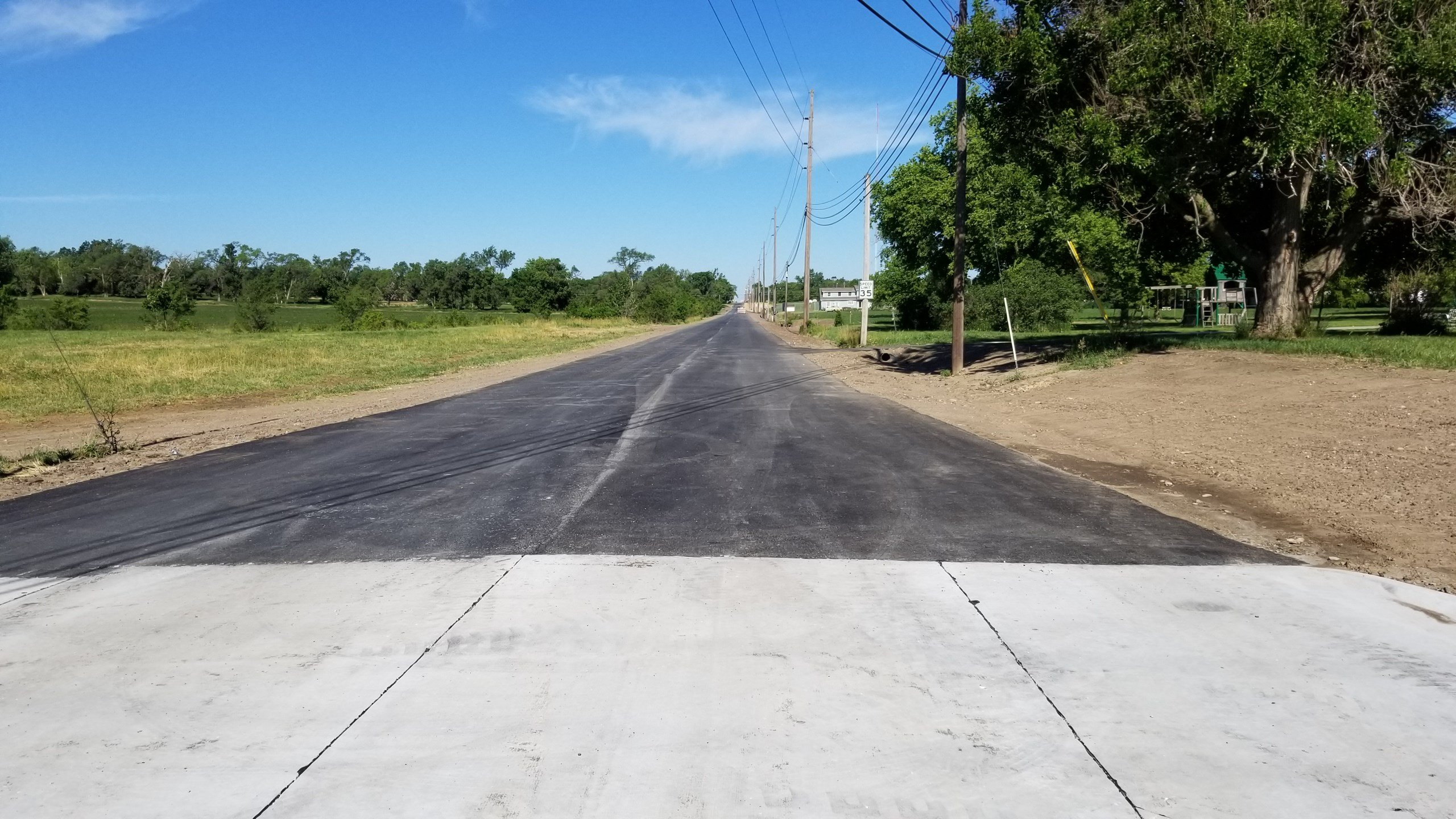 Newly paved west Beatrice street to reopen this week