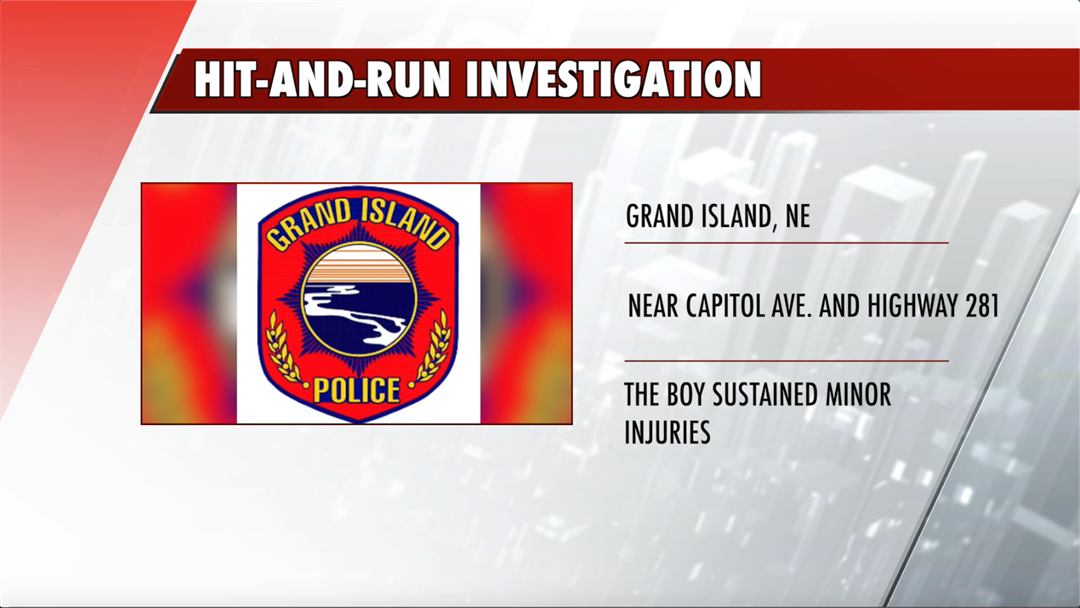 GIPD looking for suspect in hit-and-run involving teen