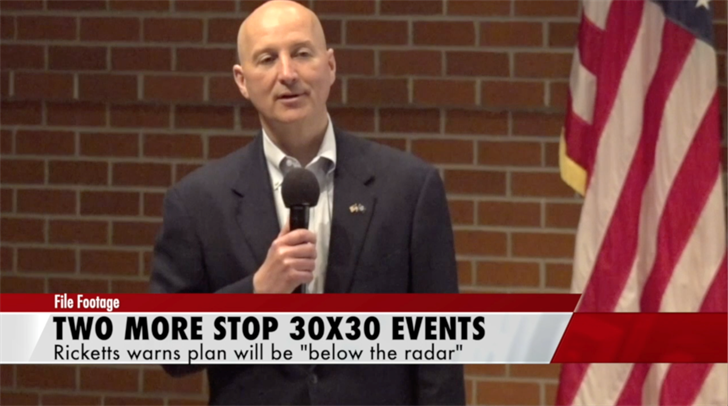 Ricketts' Stop 30 x 30 town hall tour coming to Pickrell, York