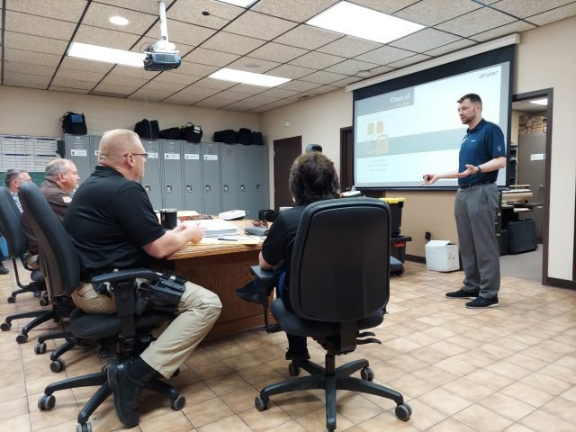 Area Law Enforcement Trains With New AEDs
