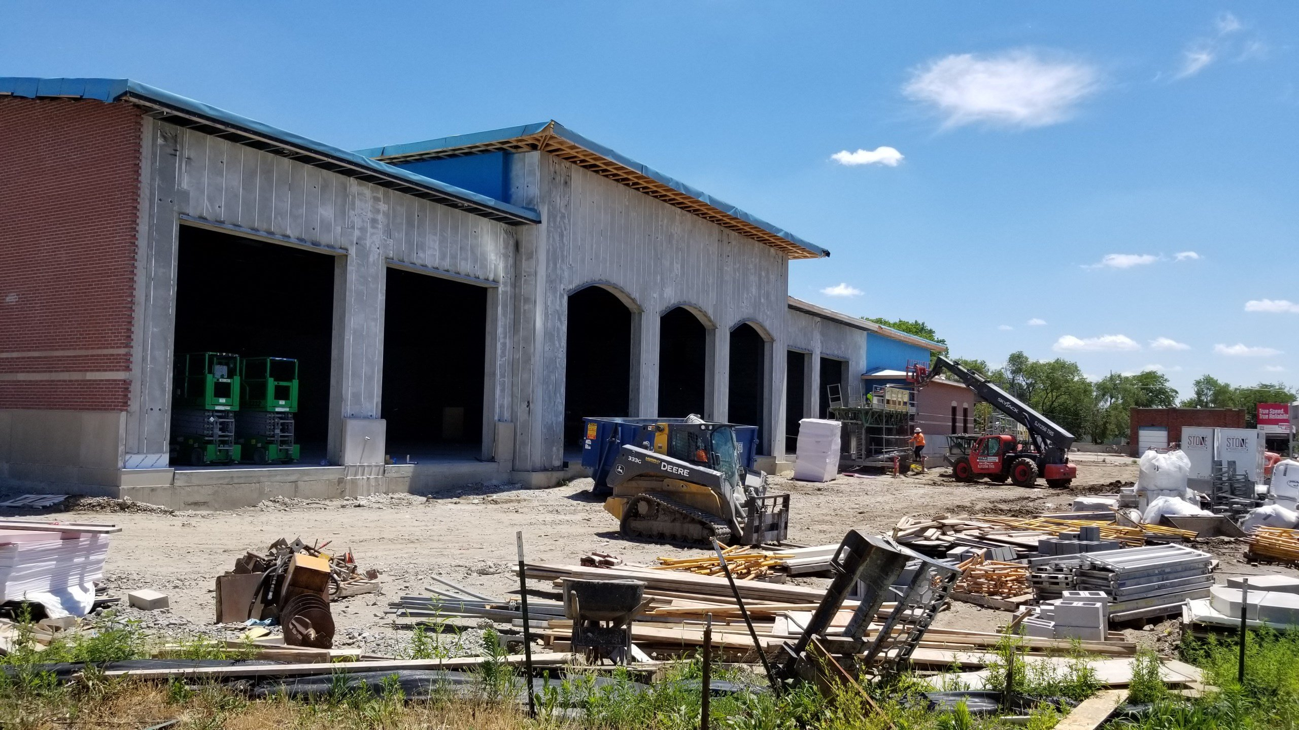 New Beatrice Fire and Rescue HQ on track for September or October finish