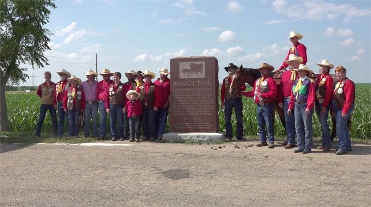 Pony Express Re-Ride trots through Thayer, Jefferson counties