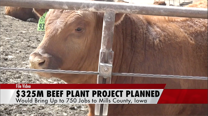 Cattlemen's Heritage plant project would bring hundreds of jobs to Iowa